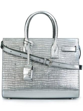 baby grey bag