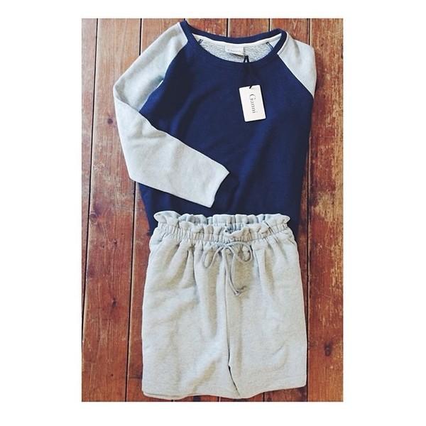 blouse ganni danish fashion