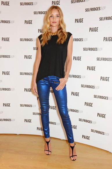 rosie huntington-whiteley shoes pants top