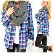 top,plaid,plaid to the b one,fall plaid,fall outfits,purple and blue,check,print,pattern,amazing lace,trendy