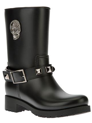 Philipp plein skull stud boot
