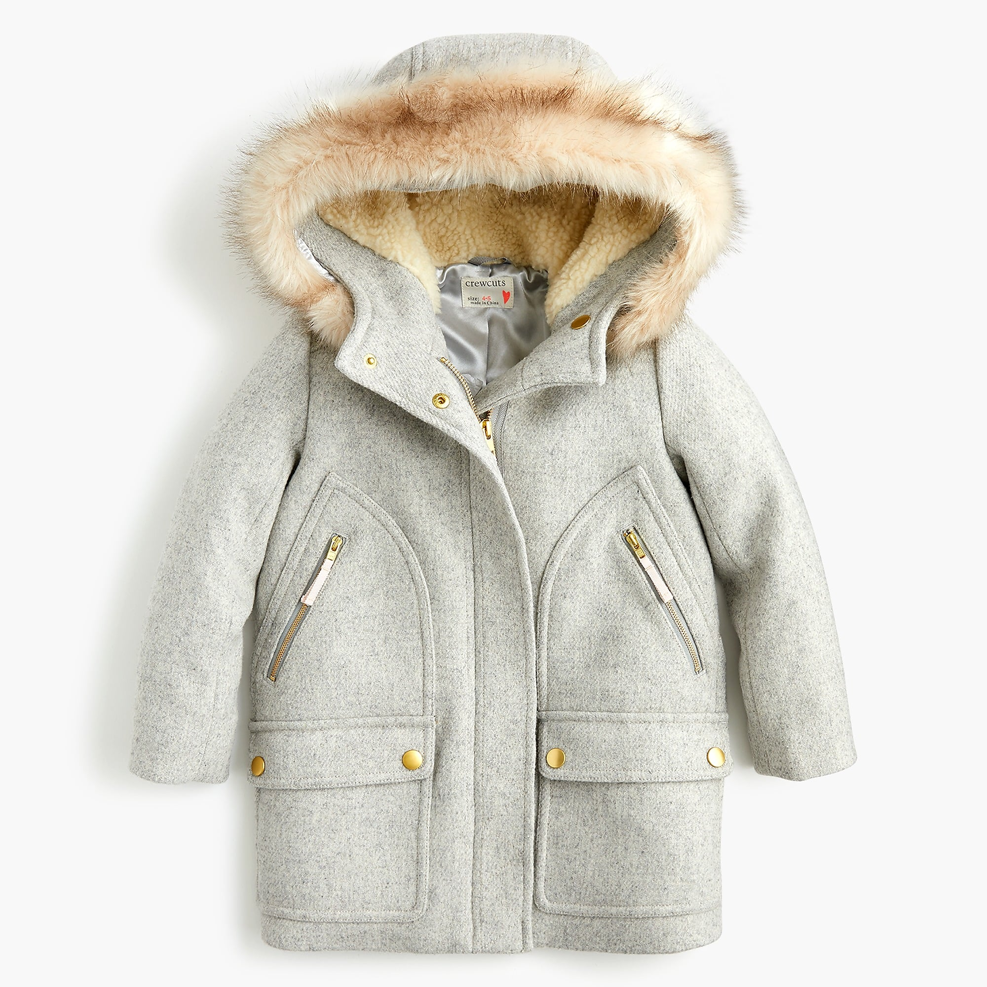 Girls' chateau parka