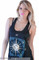 "Boho ""compassion"" moon and sund print muscle tank – glamzelle"