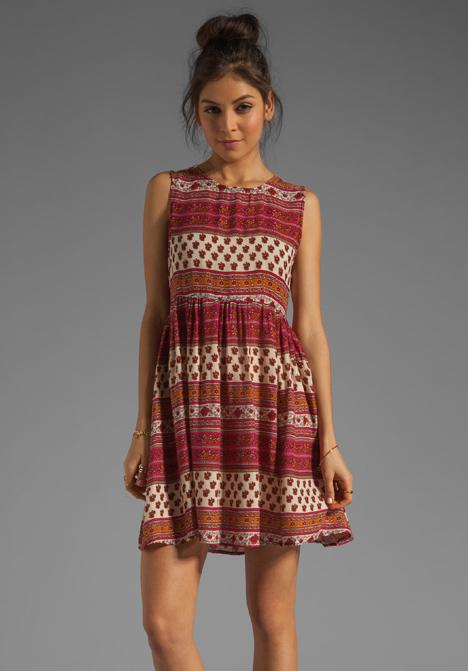 Minkpink maya mini dress in multi at revolve clothing