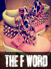 shoes,leopard print,silver,pink,hot,new,winter outfits,cool,timberlands