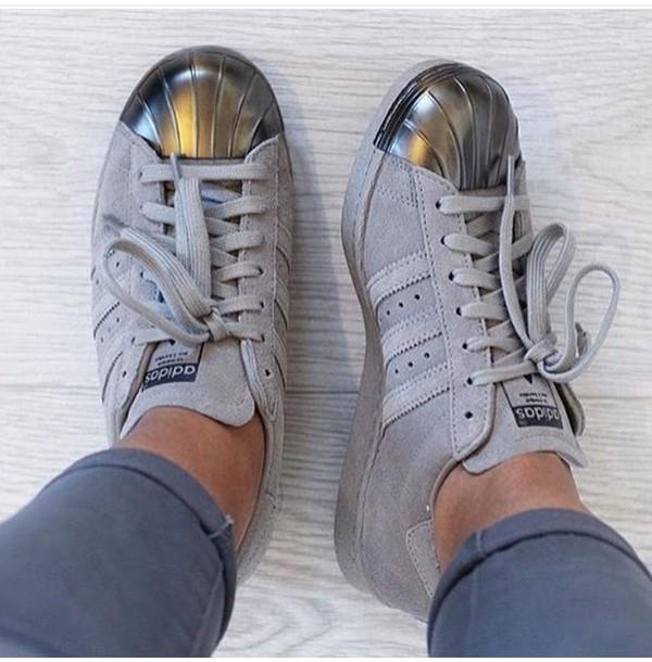 superstar 80s metal toe silver