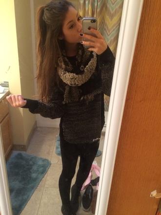 sweater black top drmartens