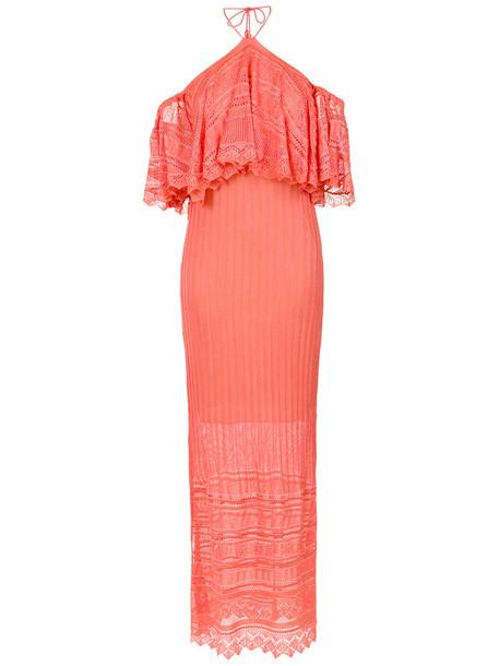Cecilia Prado gown women purple pink dress