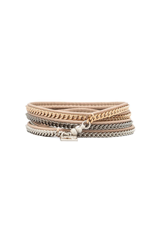 Vita Fede Capri 5 Wrap Bracelet in Multi & Nude | REVOLVE
