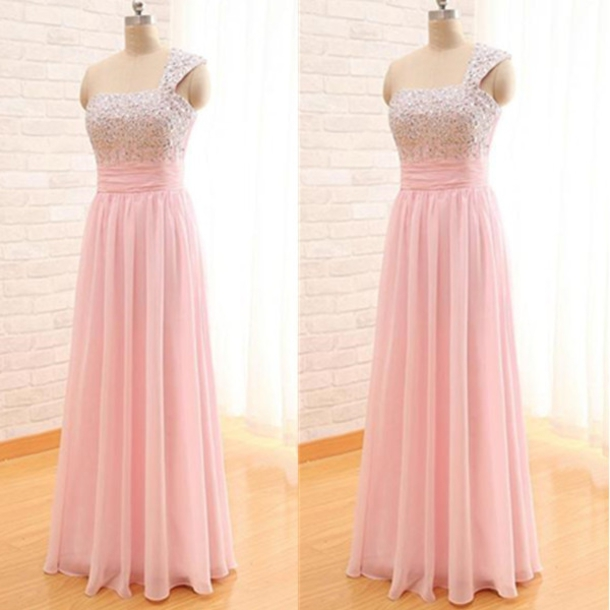 Dress Ball Gowns Long Sleeves Party Dress Beadings Floor