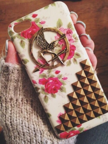 the hunger games jewels mockingjay pin iphone case Belt