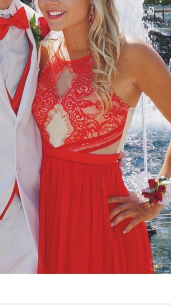 dress red dress red prom dress red open front dress prom dress prom long prom dress prom gown