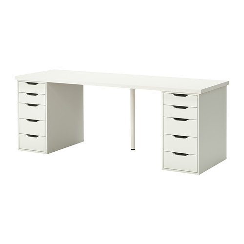 LINNMON / ALEX Table - white - IKEA