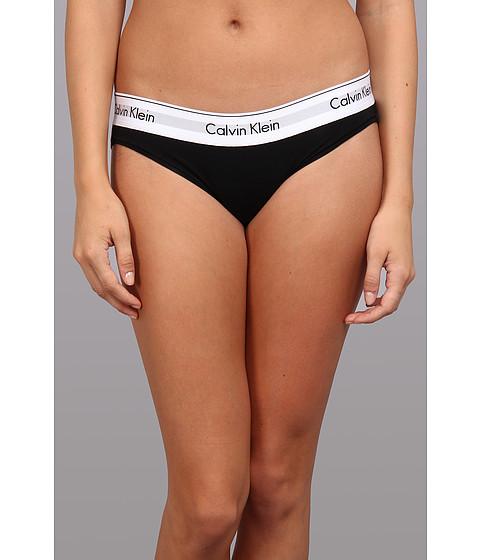 Calvin Klein Underwear Modern Cotton Bikini Black - Zappos.com Free Shipping BOTH Ways