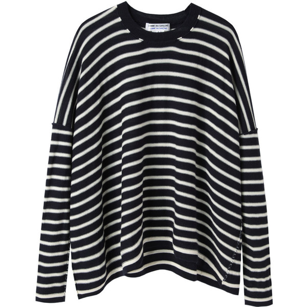 Comme des Garçons Comme des Garçons Striped Knit Pullover