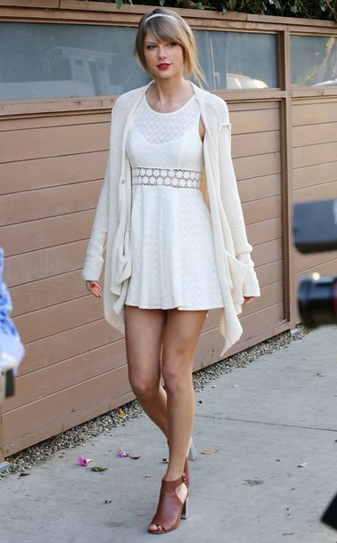 dress taylor swift celebrity style cardigan
