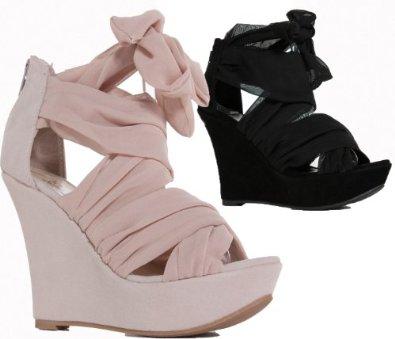 ladies womens high heels beige black nude tie up platform