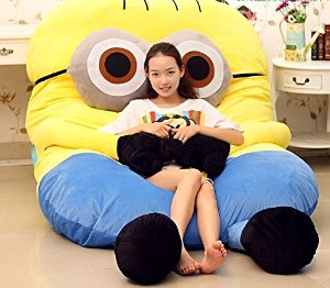 Amazon.com - Funny Despicable Me Minions Sleeping Bag Sofa Bed Twin Bed Double Bed Mattress for Kids -