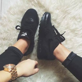 shoes nike black sneakers snake print sneakers