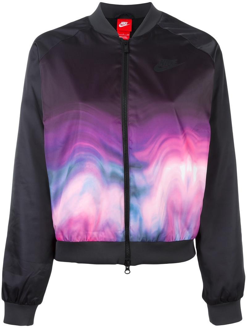 nike nikelab fleece cotton jacket in black wheretoget. Black Bedroom Furniture Sets. Home Design Ideas