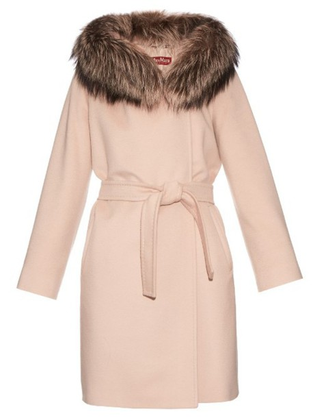 Max Mara Studio coat light pink light pink