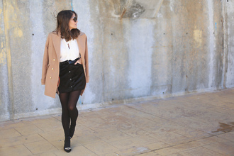 seams for a desire blogger coat shirt skirt shoes bag
