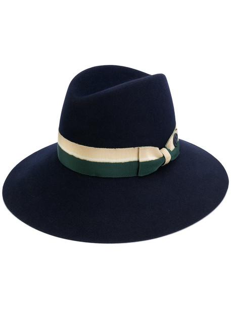 women hat blue