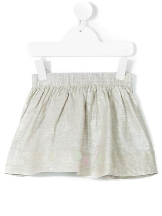 skirt metallic skirt metallic nude