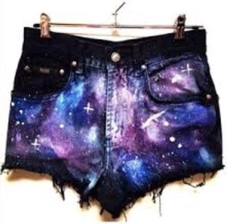 shorts galaxy shorts
