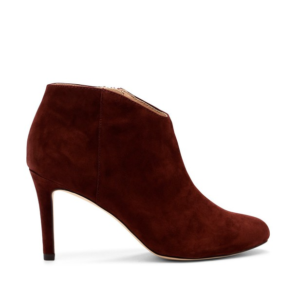 Sole Society Daphne Dressy Bootie - Red Wine-8.5