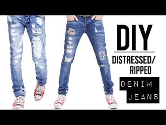 jeans ripped jeans distressed jeans