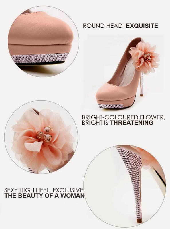 Elegant Women's High Heels Stilettos Pump Classic Shoes Flower Beads Wedding 1nL