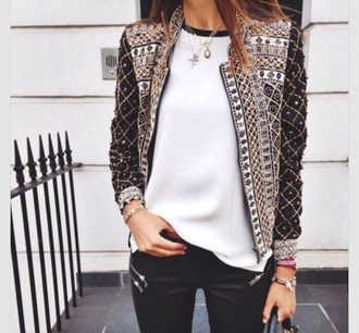 jacket sequins print blazer sequin jacket summer jacket summer fall outfits spring 2015 printed blazer girl wardrobe