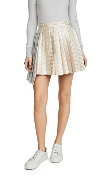 Jourden skirt champagne