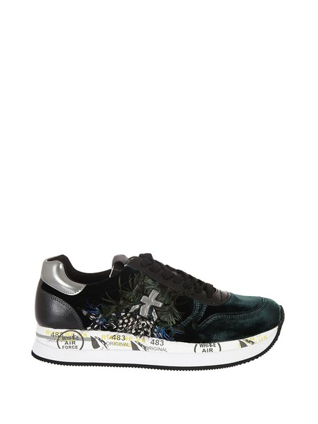 Premiata sneakers green shoes