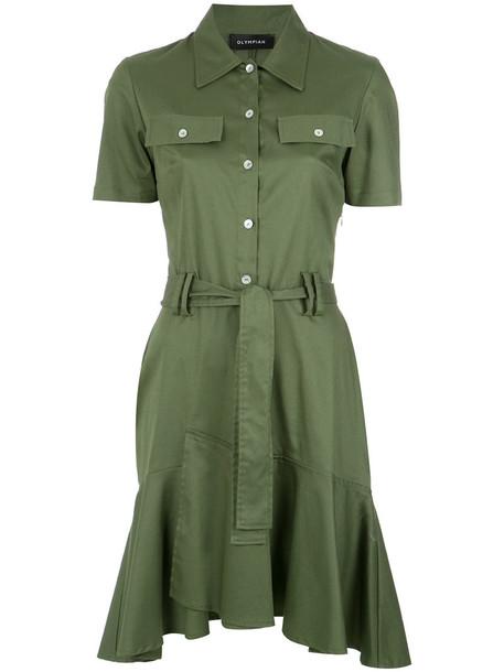 Olympiah dress shirt dress women spandex cotton