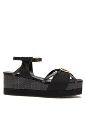 embellished,wedges,black,shoes