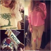 pants,pink,homewear,home decor,heart,lovely,love,cute,ellie goulding,sweatpants,comfy