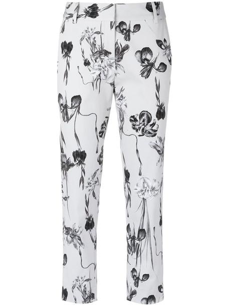 Andrea Marques cropped women spandex floral cotton pants