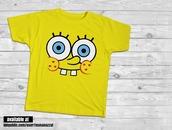 t-shirt,yellow top,fashion,t-shirt dress,cute,cute shirt,spongebob,minimalist,minimalist fashion