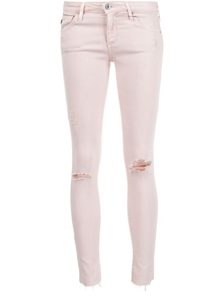ag jeans jeans skinny jeans ripped skinny jeans ripped purple pink