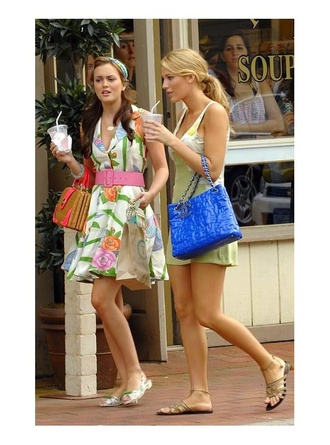 bag blue bag serena van der woodsen chanel bag