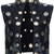 ROMWE | ROMWE Circular Cutout Faux Leather Sleeveless Vest, The Latest Street Fashion