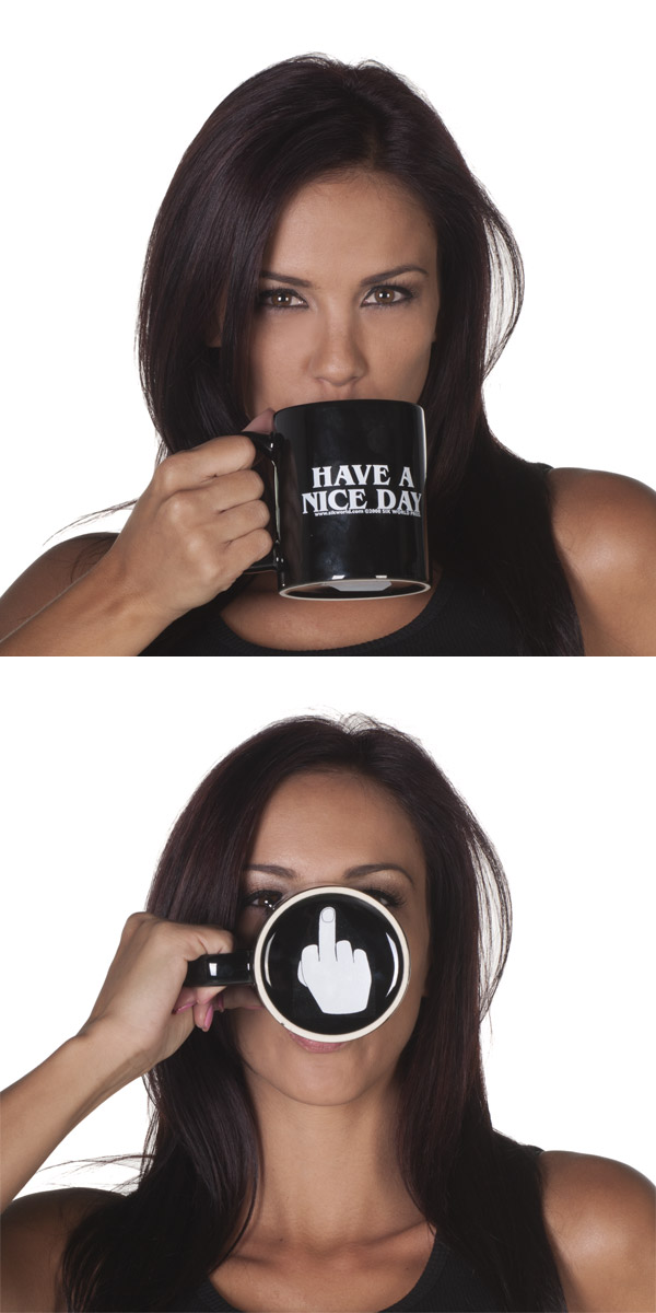 HAVE A NICE DAY Funny Coffee Mug — Sik World Productions