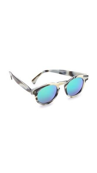 sunglasses mirrored sunglasses green