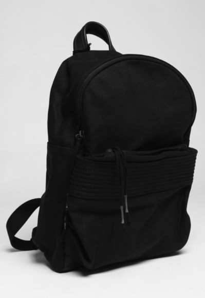 girls boys bag menswear womens black backpack
