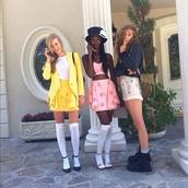 skirt,pink,high waisted skirt,stars,ruffle