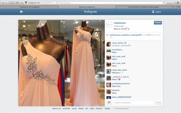 Tumblr Dress Prom Dress Homecoming Dress Pink Pink Dress