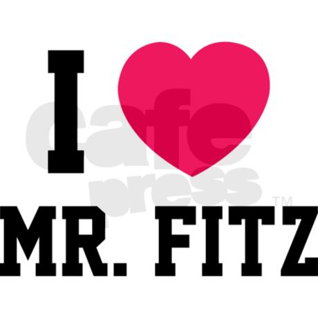 I love mr. Fitz Shirt by Designalicious