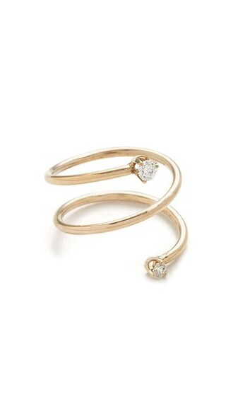 paris clear statement ring statement ring gold jewels